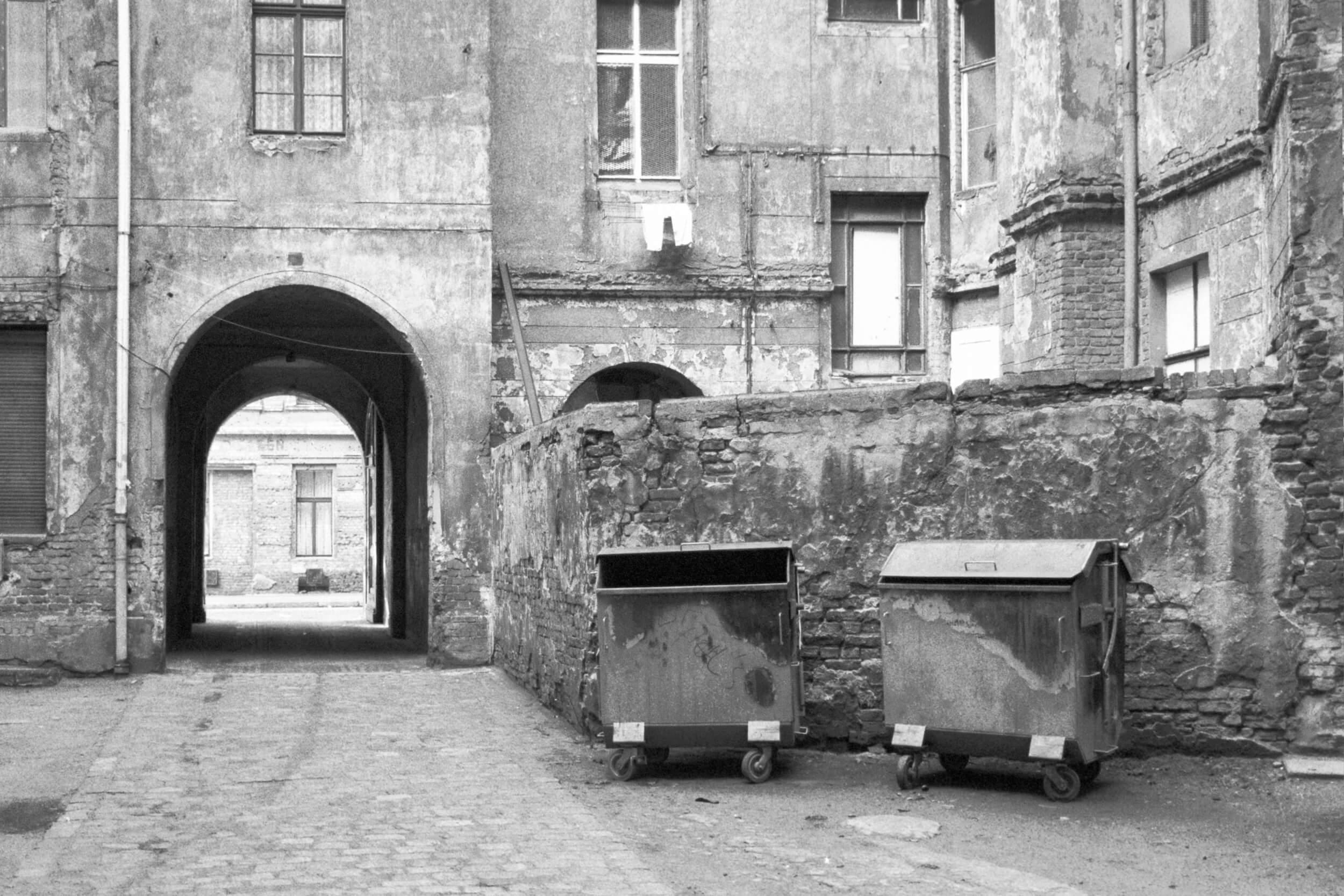 Auguststraße 1985