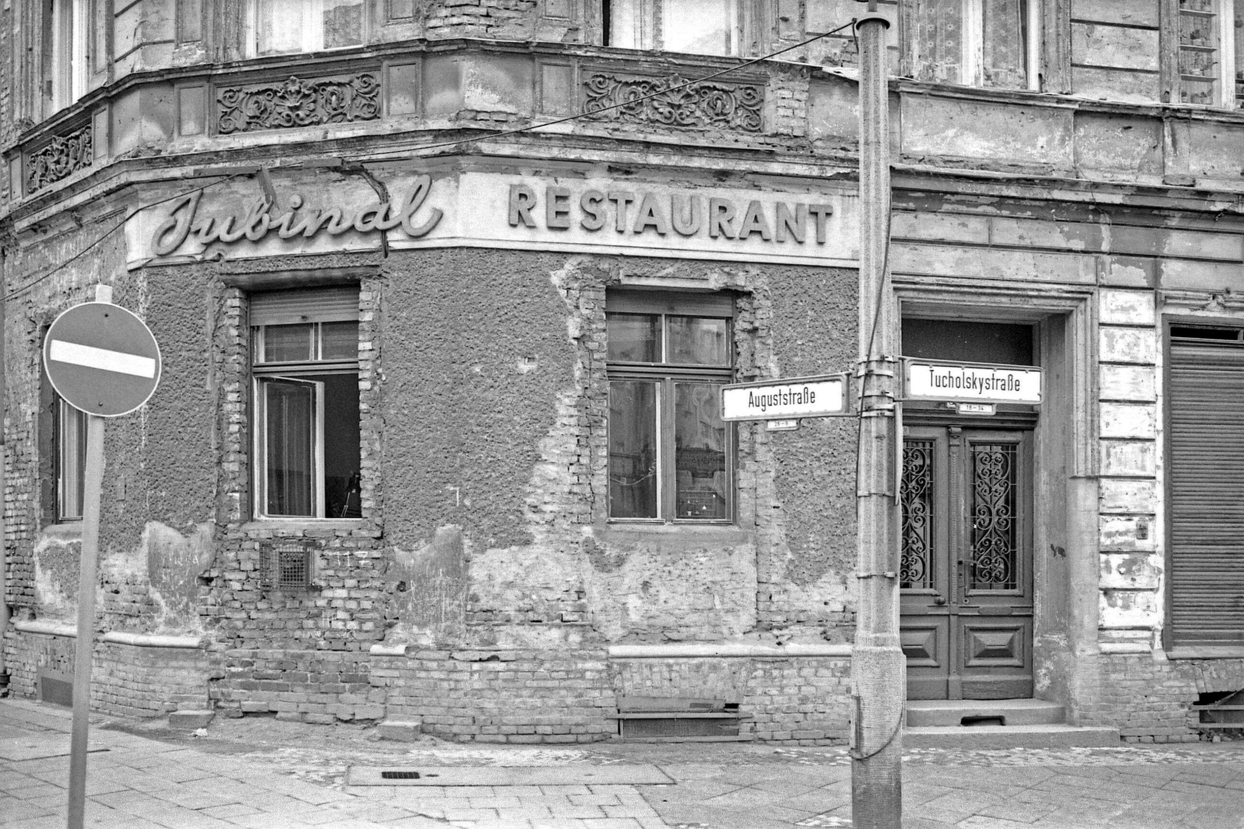Auguststraße Berlin 1985