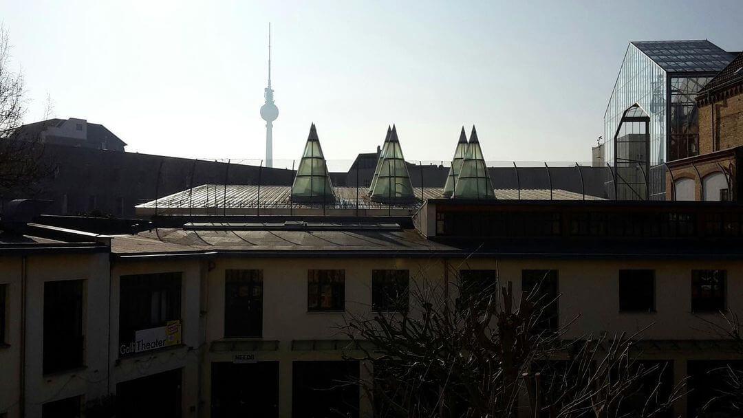 Heckmann Höfe Luftansicht